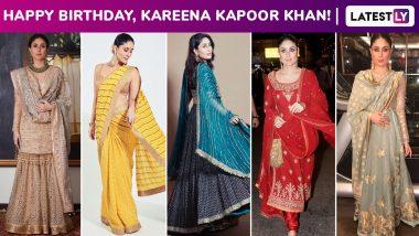 Kareena Kapoor Khan Birthday Special: Ethnic Grandeur Is Just Another Forte of Begum Jaan's Trailblazing Fashion Arsenal!