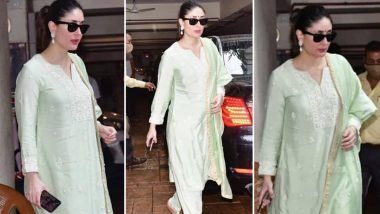 Kareena Kapoor Khan Is Minty Cool and Chic in an Ethnic Ensemble Worth Rs.31,000!