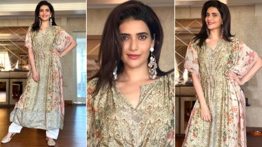 Karishma Tanna Is Kaftan Chic, Her Lazy Chic Style Can Easily Be Yours!