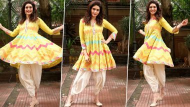 Karishma Tanna Is Twirly Chic and Channeling Her Inner Rangeela With This Festive Fashion Offering!
