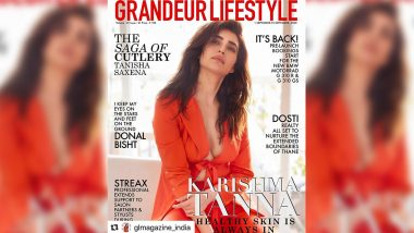 Karishma Tanna Is Glowing With That Healthy Skin Is Always in Vibe As Grandeur Lifestyle's Cover Girl!