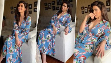 Karishma Tanna Is Effortlessly Chic in Florals, Her Infectious Smile Is Unmissable!