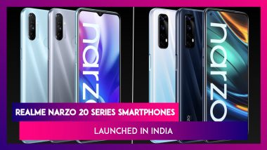 Realme Narzo 20A, Narzo 20 Pro & Narzo 20 Launched in India from Rs 8,499; Prices, Variants, Features & Specifications