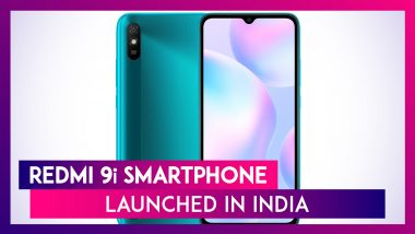 Redmi 9i With MediaTek Helio G25 SoC Launched in India, Prices, Features, Variants & Specs