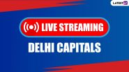 IPL 2020 Live Streaming Online for DC Fans: Watch Free Telecast of Delhi Capitals Matches in Dream11 IPL 13 on Star Sports 1 Hindi TV Channel