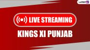 IPL 2020 Live Streaming Online for KXIP Fans: Watch Free Telecast of Kings XI Punjab Matches in Dream11 IPL 13 on Star Sports 1 Hindi TV Channel