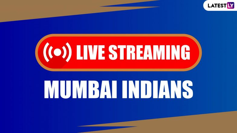 IPL 2020 Live Streaming Online for MI Fans: Watch Free TV Telecast of Mumbai Indians Matches in Dream11 IPL 13 on Star Sports 1 Hindi Channel