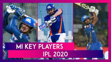 Rohit Sharma, Hardik Pandya, Jasprit Bumrah and Other Key Players for Team MI in IPL 2020
