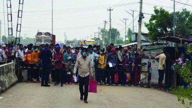 Lockdown Impact in Nepal: 22,000 Nepali Migrant Workers Leave for India Via Nepalgunj Border in Search of Work