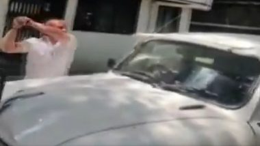 MNS Corporator Vasant More Ransacks Car of Pune Civic Body Officer After Ambulance 'Was Not Made Available' to Take Body of His Deceased Relative; Watch Video