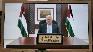 UNGA 2020: Palestine's Mahmoud Abbas Asks For 'Mideast Conference' Next Year as Arab States Begin Toeing US Line on Israel