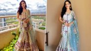Manushi Chhillar in a Sharara Dress Is Just the Perfect Festive Ensemble to Add to Your Desi Wardrobes This Season!