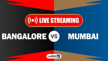RCB vs MI, IPL 2020 Live Cricket Streaming: Watch Free Telecast of Royal Challengers Bangalore vs Mumbai Indians on Star Sports and Disney+Hotstar Online
