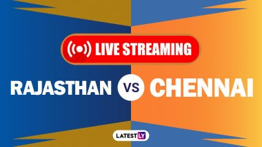 RR vs CSK, IPL 2020 Live Cricket Streaming: Watch Free Telecast of Rajasthan Royals vs Chennai Super Kings on Star Sports and Disney+Hotstar Online