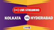 KKR vs SRH, IPL 2020 Live Cricket Streaming: Watch Free Telecast of Kolkata Knight Riders vs Sunrisers Hyderabad on Star Sports and Disney+Hotstar Online