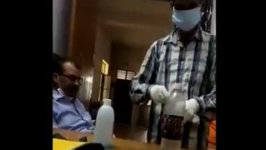 Uttar Pradesh: Mathura-Based Doctor Sends 15 of His Own Samples for COVID-19 Test to Complete Sampling Target Set by CMO, Watch Viral Video