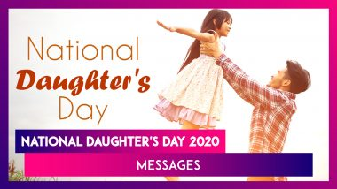 Happy National Daughter's Day 2020 Messages: Send These Wishes to Make Your Daughters Feel Special