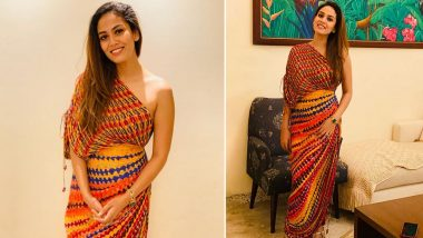 Mira Kapoor in a Rs. 20,000 Saree Dress Is Versatile Cool and Minimalist Chic All at Once!