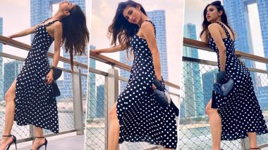 Mouni Roy Is Channeling That There-Is-Never-Wrong-Time-for-Polka-Dots Vibe!