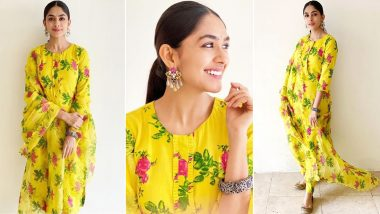 For Mrunal Thakur, This Festive Season Is All About Shinning Like a Bright Sunflower!