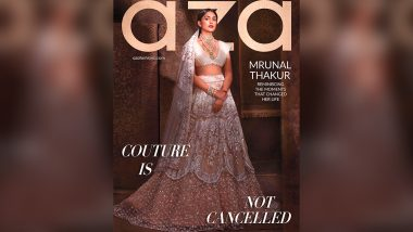 Mrunal Thakur Is Reminiscing Moments That Changed Her Life All Whilst Dripping Embellished Elegance!