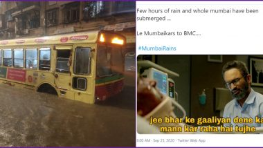 Mumbai Rains Funny Memes Resurface Online As Netizens Share Pics and Videos of Waterlogging Across The City Following Heavy Rainfall
