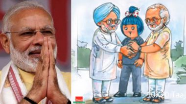 Narendra Modi Birthday: Prime Minister Thanks Amul For Special Wish Video, Says 'Your Wishes Are as Sweet as Your Ice Creams and Chocolates'