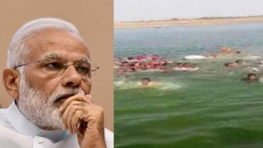 Rajasthan Boat Tragedy: PM Narendra Modi Expresses Grief Over Loss of Lives in Boat Capsize Incident in Kota