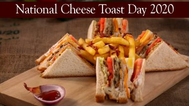 National Cheese Toast Day 2020: Quick And Easy Recipe to Make Cheese Sandwich at Home (Watch Video)