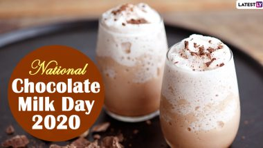 National Chocolate Milk Day 2020: Here's The Step-by-Step Recipe to Prepare The Beverage at Home (Watch Video)