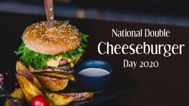 National Double Cheeseburger Day 2020: Easy Step-by-Step Guide to Make the Tasty Burger With Extra Cheese of Your Dreams! (Watch Video)