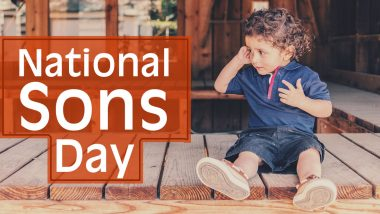 When is National Son's Day 2020? Know Date and Significance Dedicated to Honour the Boy Child in Your Family!