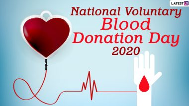 National Voluntary Blood Donation Day 2020 Date And Significance: History And Objectives of Day That Highlights The Importance of Safe Blood Transfusion