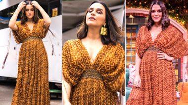 Neha Dhupia Is Kaftan Chic in Nikita Mhaisalkar, Glamourising Comfort Wear As Street Wear!