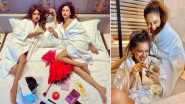 Nia Sharma and Krystle D'Souza Hot Photoshoot in Bathrobes Is Making Us Sweat Buckets, Check Out Sexy Pics