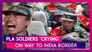 PLA Soldiers 'Crying' As They Travel To LAC? Here Is What Chinese & Taiwanese Media Are Saying