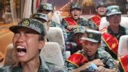 Video of PLA Soldiers 'Crying' Over Alleged Deployment at Ladakh Border Triggers War of Words Between Chinese and Taiwanese Media
