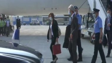French Defence Minister Florence Parly Arrives in Delhi, to Attend Rafale Induction Ceremony at Ambala