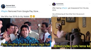 Paytm Pulled Down: Funny Memes and Jokes Trend Online After Digital Wallet App Disappears From Google Play Store Over 'Violation of Gambling Policies'