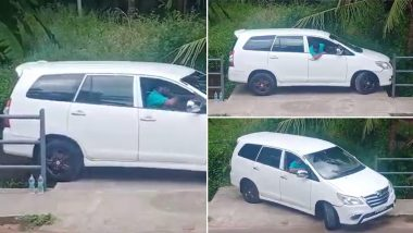 Perfect Reverse! Video of Man Taking Car Out of Tight Spot Goes Viral, Gains Him Praises