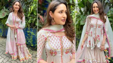 When Pragya Jaiswal Twirled, Smiled and Had That Gorgeous Suit On!