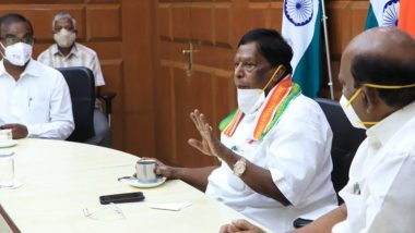 No NEET If Congress, Led by Prime Minister Rahul Gandhi, Comes to Power: Puducherry Chief Minister V Narayanasamy