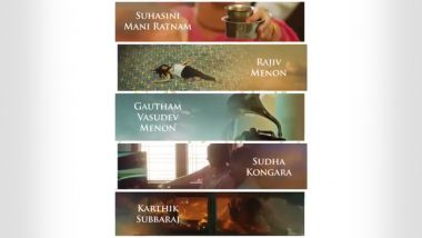 Putham Pudhu Kaalai: Suhasini Mani Ratnam, Gautham Menon and More– 5 Directors Collaborate With Amazon Prime to Deliver 5 Heartwarming Stories (Watch Video)