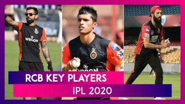 Virat Kohli, AB de Villiers, Navdeep Saini and Other Key Players for Team RCB in IPL 2020