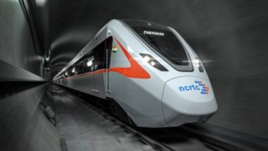 Delhi-Ghaziabad-Meerut Regional Rapid Transit System Unveiled by Ministry of Housing And Urban Affairs (View Pics)