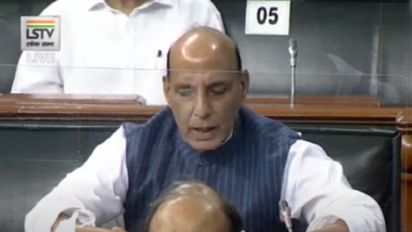 Rajnath Singh Issues Statement on India-China Face-Off in Parliament, Says 'Border Issue Unresolved, No Mutually Acceptable Solution Reached' (Read Full Text)