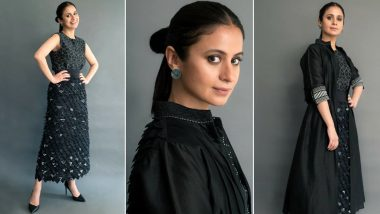 Rasika Dugal in All Chic Black Is Our Forever Much Loved Mood!