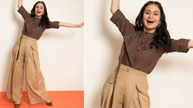 Rasika Dugal Aces the Subtle Balancing Act of Neutral Browns!