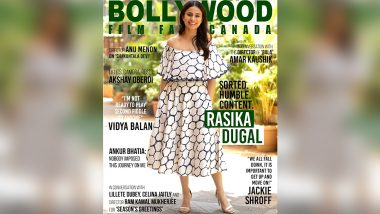 Rasika Dugal Is Sorted, Humble, Content and Chic As the Cover Girl of Bollywood Film Fame Canada!
