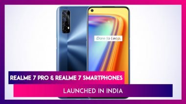 Realme 7 Series With Quad Rear Cameras Launched inIndia; Prices, Variants, Features & Specifications